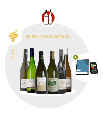 Coffret Dégustation 6 vins blancs secs de Loire