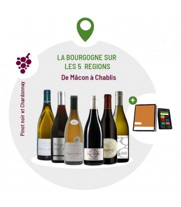 Coffret Degustation Secrets de la Bourgogne - 6 vins
