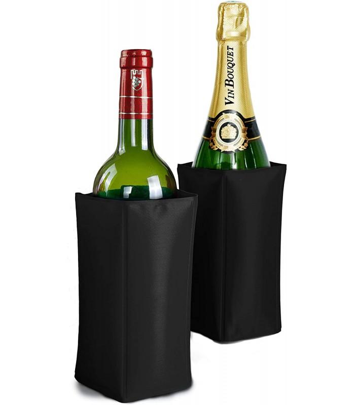 Housse rafraichisseur pour vin et champagne
