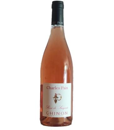 Bouteille de rosé Charles Pain - Chinon