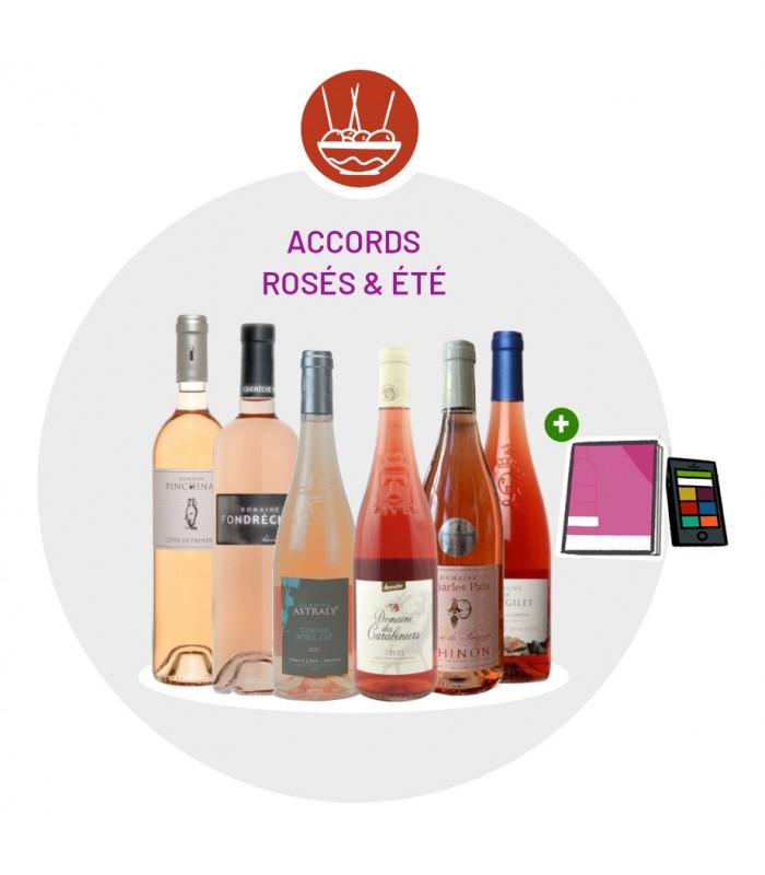 Coffret Dégustation Rosés d'été - 6 Vins rosés
