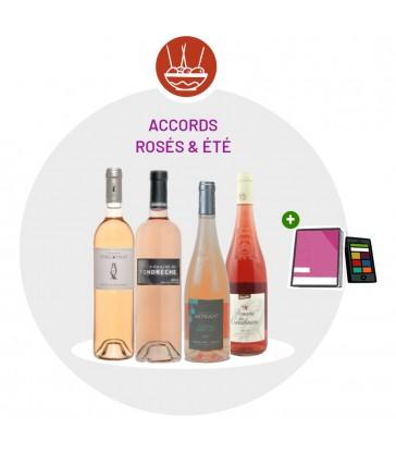 Coffret Dégustation Rosés d'été - 4 Vins rosés