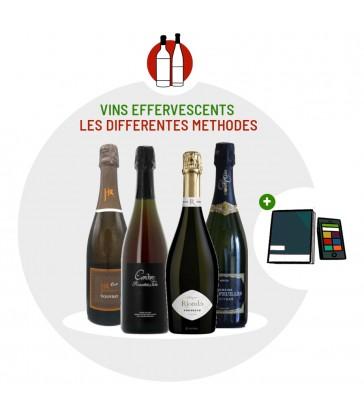 Coffret Dégustation Tour de France 4 vins effervescents