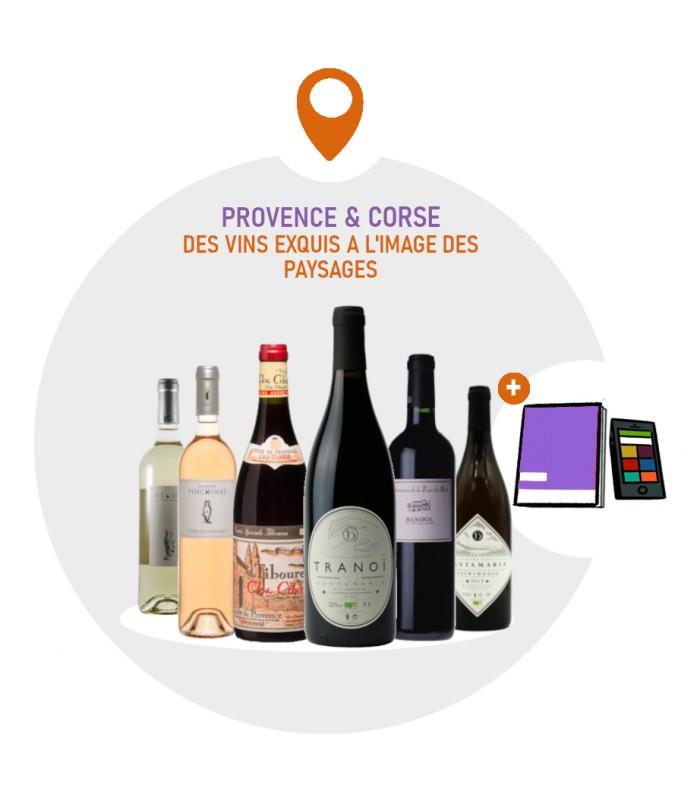 Coffret Degustation Vins de Provence - 4 vins