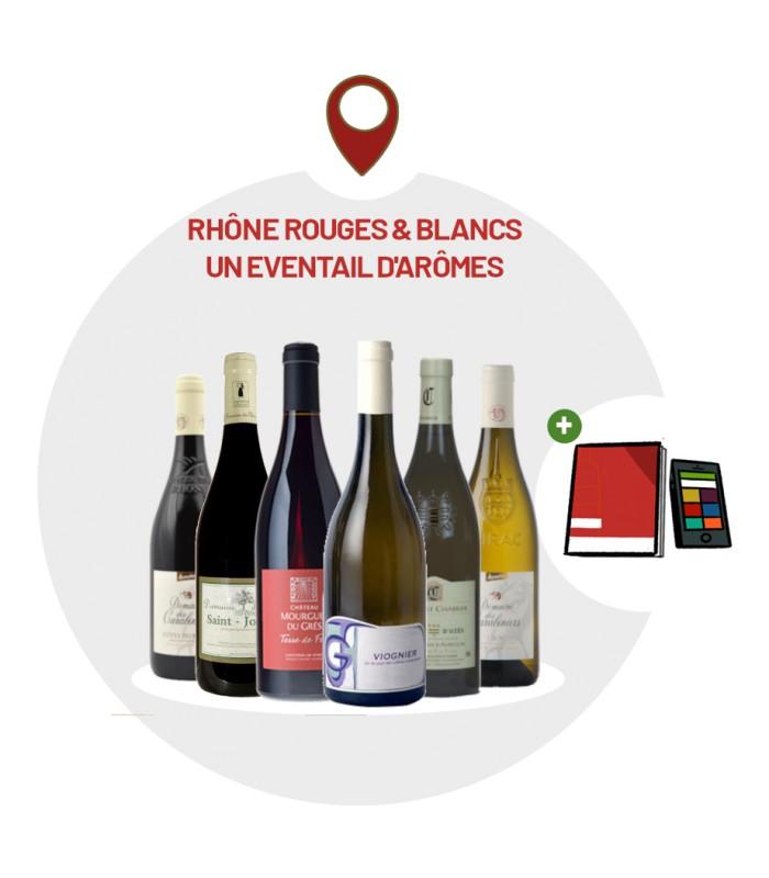 Coffret Dégustation 6 vins rouges du Languedoc-Roussillon