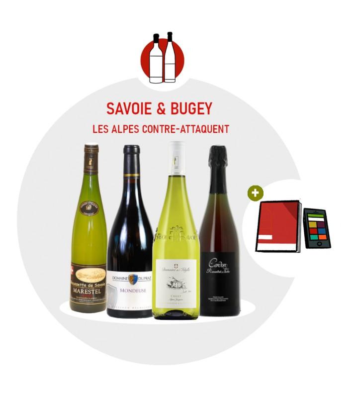 Coffret Degustation Savoie et Bugey - 4 vins