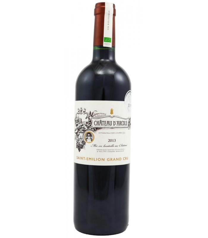 Bouteille de vin Château d'Arcole - Saint-Emilion Grand Cru