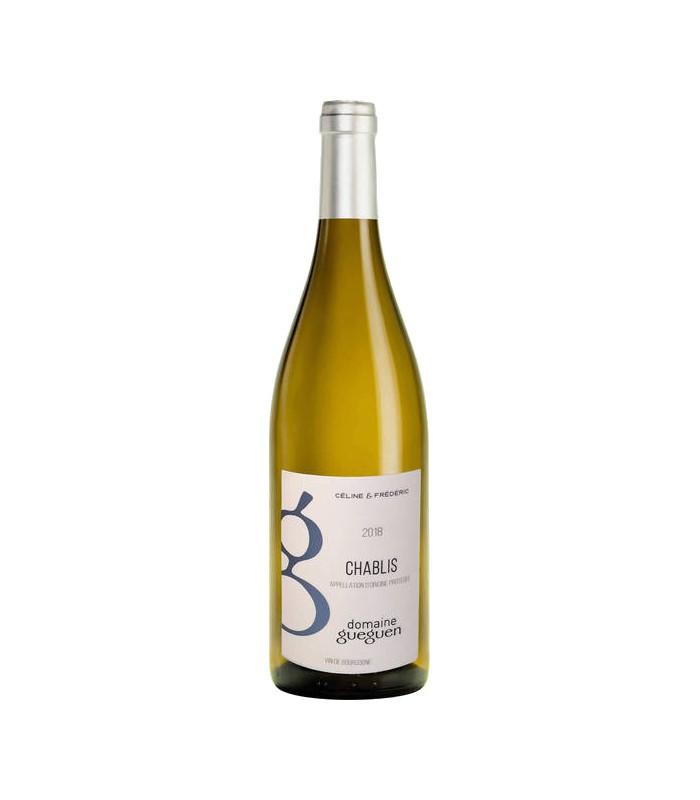 Bouteille de vin Guegen - Chablis