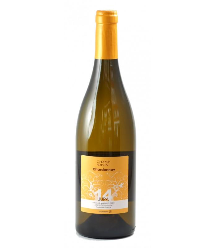 Bouteille de vin Champ divin - Côtes du Jura - Côtes du Jura Chardonnay