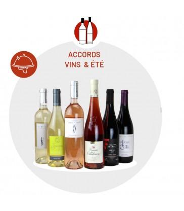 Box vin accords mets de l'été