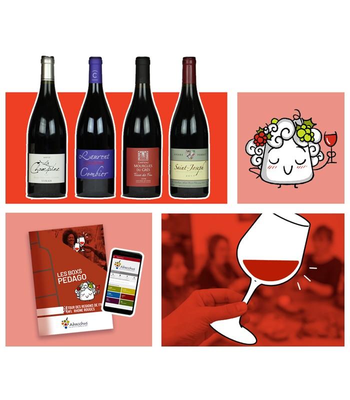 Abonnement box vin Tour des régions de France
