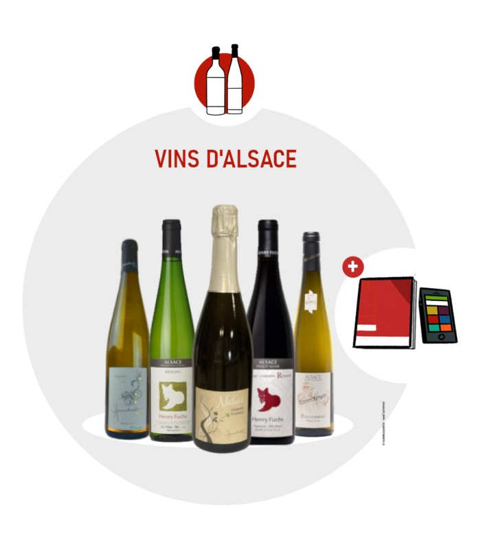 Coffret Degustation Alsace - 6 vins