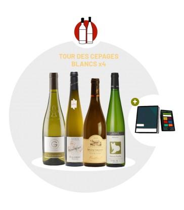 Coffret Dégustation Cépages - 4 vins blancs
