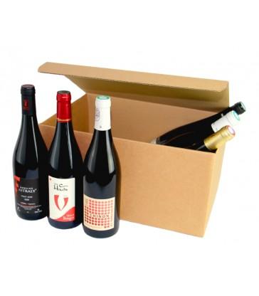Coffret Cadeau Vin - 6 bouteilles