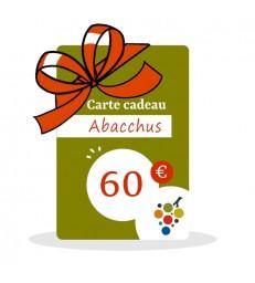 Carte Cadeau Vin 60€