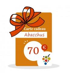 Carte Cadeau Vin 70€
