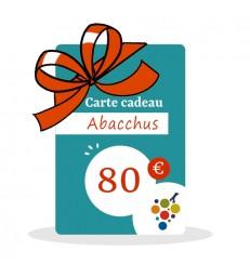 Carte Cadeau 80€
