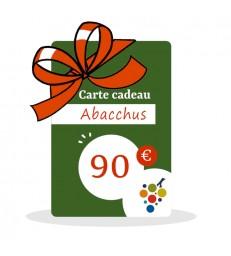 Carte Cadeau Vin 90€