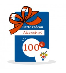 Carte Cadeau Vin 100€