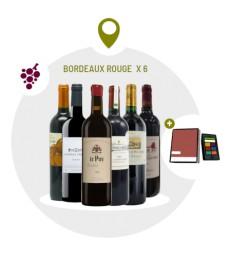 Coffret Bordeaux - 6 Vins Rouges