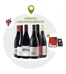 Coffret Rhône Sud - 6 Vins Rouges