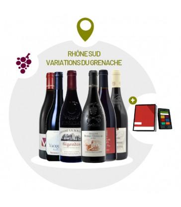 Coffret Dégustation AMPHORES 4 vins rouges