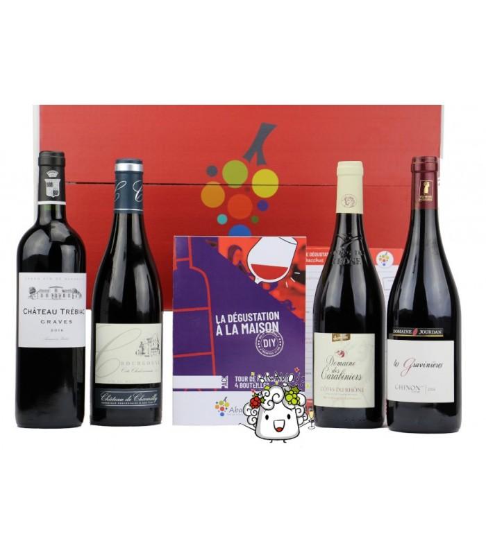 Abonnement découverte du Vin