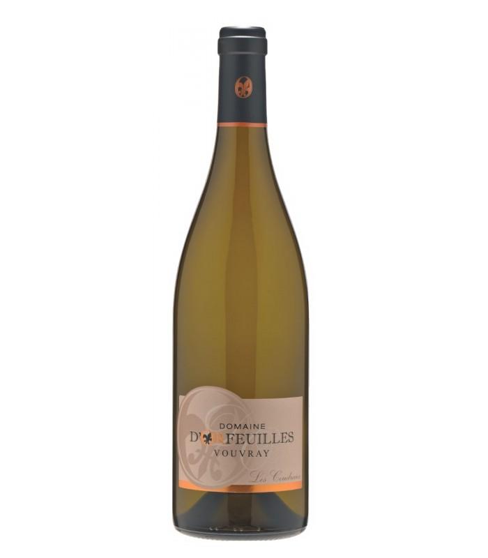 Bouteille de vin Domaine d'Orfeuilles - Vouvray - Les Coudraies