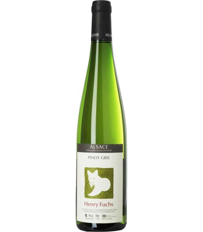 Bouteille de vin Henry Fuchs Alsace Pinot Gris