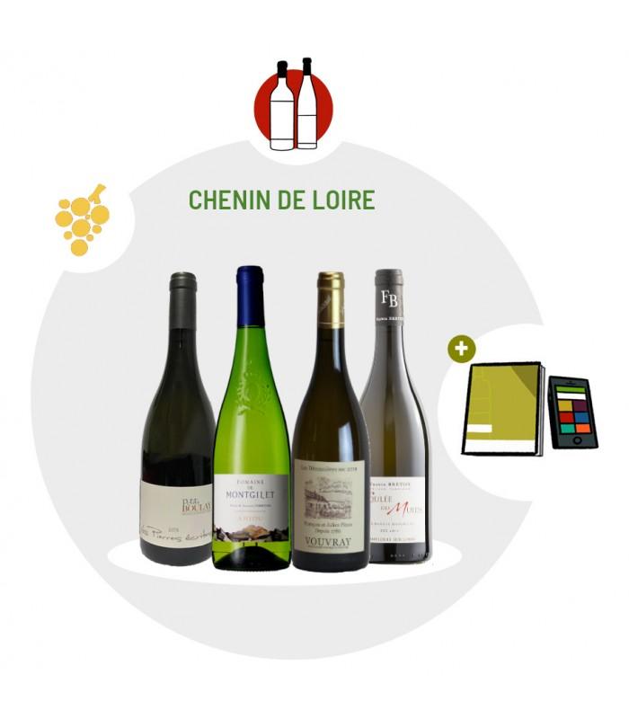 Coffret Dégustation 4 vins blancs - Cépage Chenin