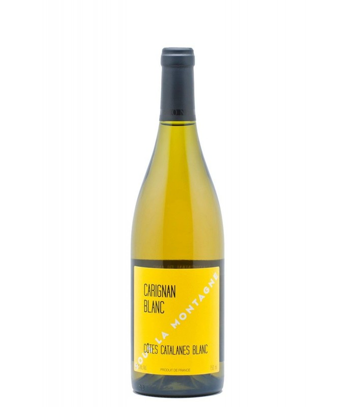 Jeff Carrel - Côtes Catalanes - Carignan blanc sous la montagne 2017
