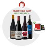 Coffret vin Sud-Ouest rouge 4