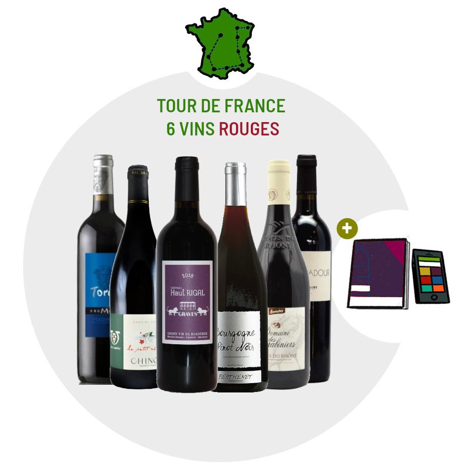 Coffret vin pour apprendre le corps des vins