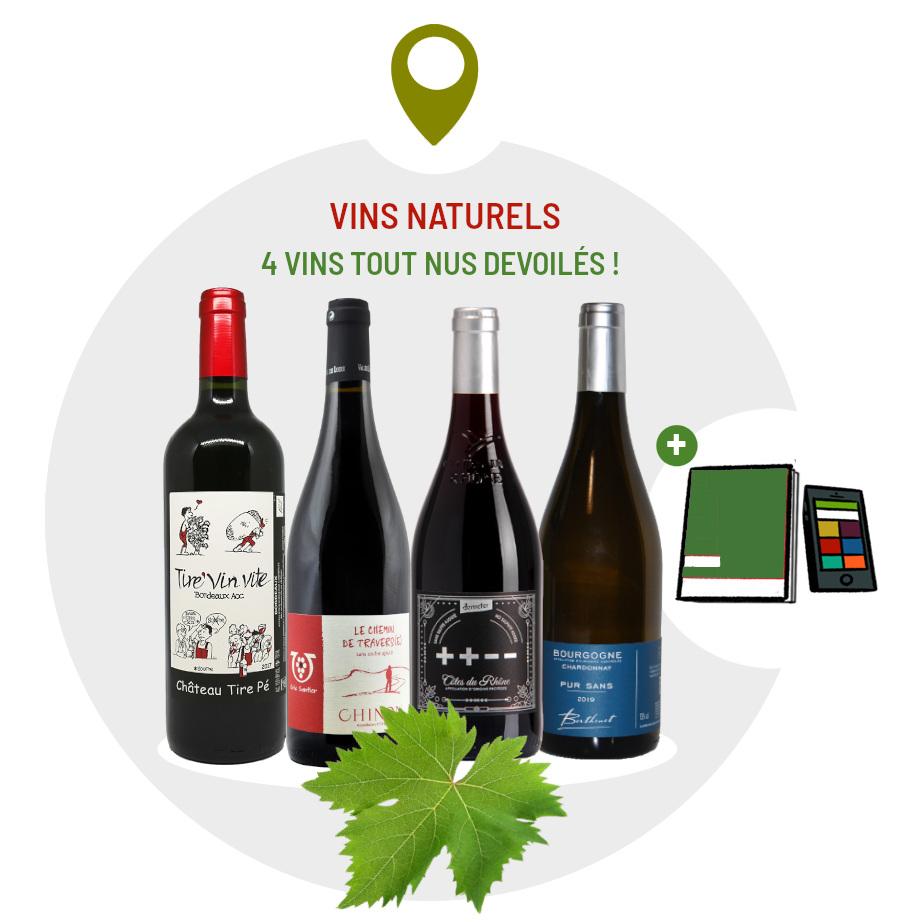 Coffret vins naturels