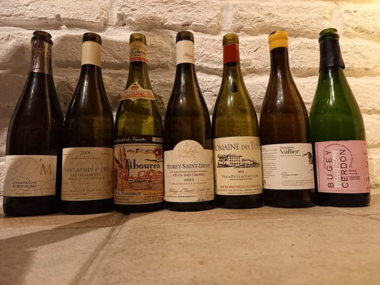 7 vins différents