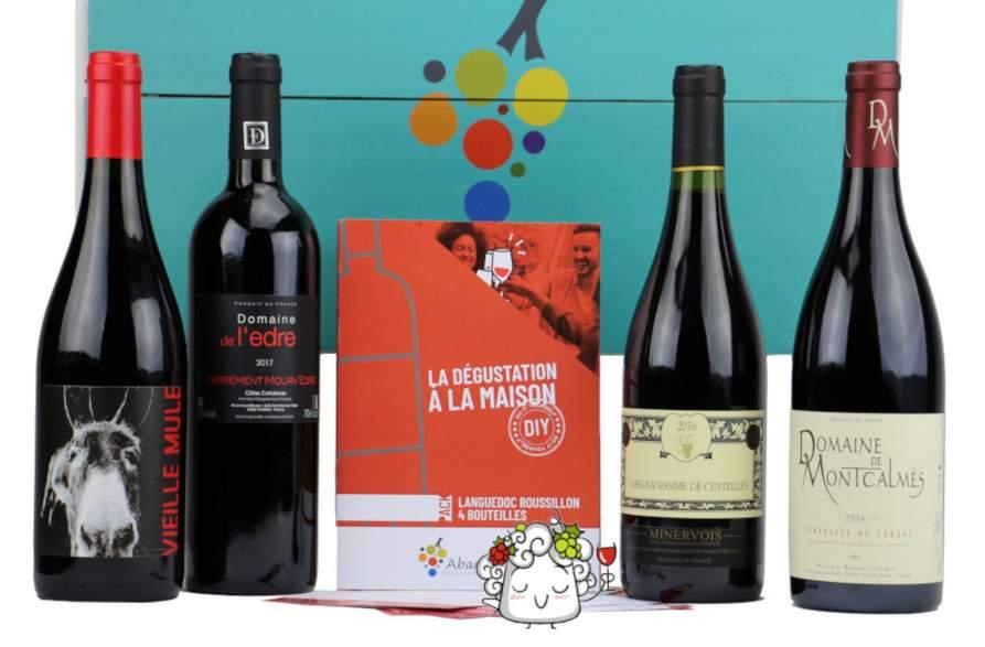 Coffret degustation Languedoc roussillon