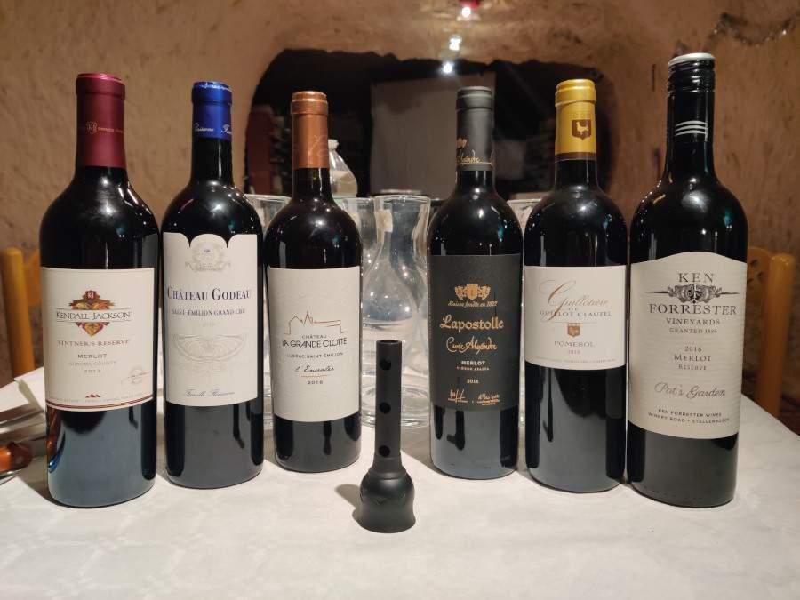Battle de vins France contre autres pays