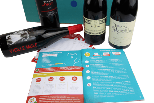 Coffret dégustation Abacchus Languedoc ROussilon en 4 vins