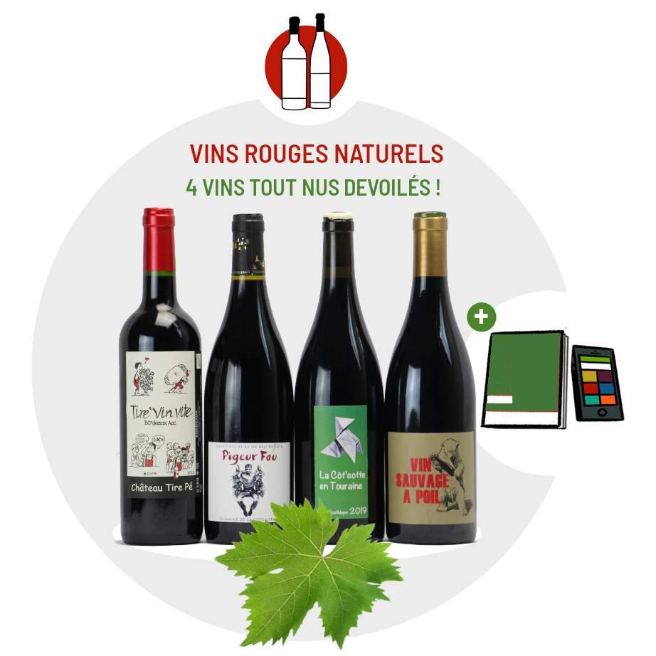Coffret Abacchus Vins naturels