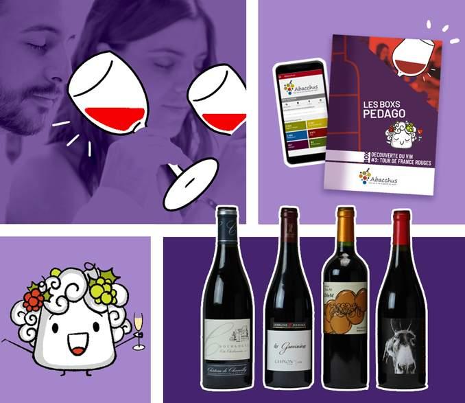 Box mensuelle Découverte du Vin